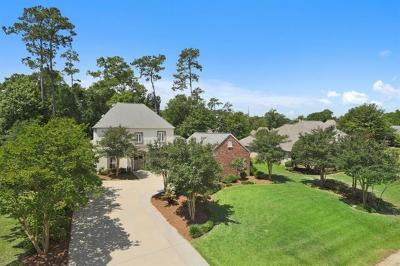 Single Family Home For Sale: 108 Chacahoula Lane