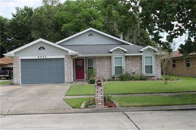 Marrero Single Family Home For Sale: 4017 Hugo Drive