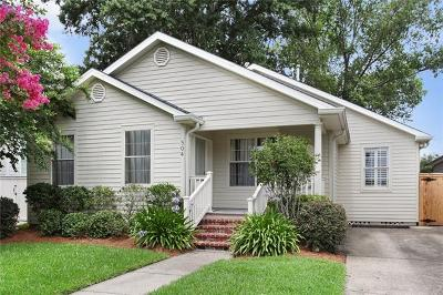 Metairie Single Family Home For Sale: 504 Rosewood Drive