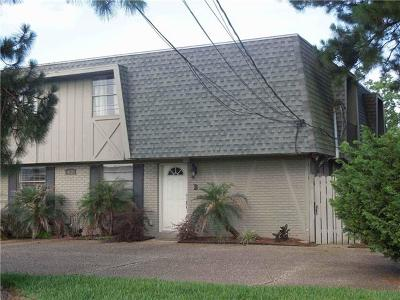 Metairie Condo For Sale: 4520 Laplace Street #B