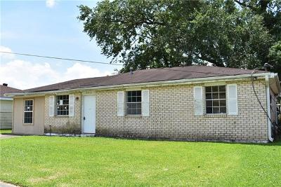 Marrero Single Family Home For Sale: 5917 Louis I Avenue