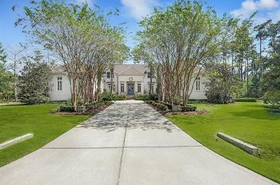 Mandeville LA Single Family Home For Sale: $1,499,000