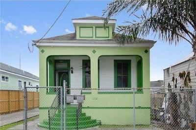 New Orleans Single Family Home For Sale: 1214 N Johnson Street