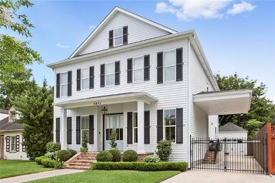 New Orleans Single Family Home For Sale: 5831 Vicksburg Street