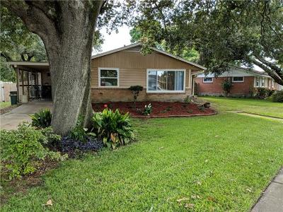 Metairie Single Family Home For Sale: 2600 Haring Road