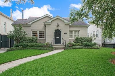 Metairie Single Family Home For Sale: 205 Magnolia Drive