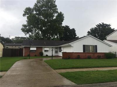 Gretna Single Family Home For Sale: 825 Morningside Drive