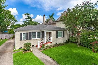 Metairie Single Family Home For Sale: 442 Phosphor Avenue