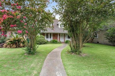 Metairie Single Family Home For Sale: 332 Ridgeway Drive