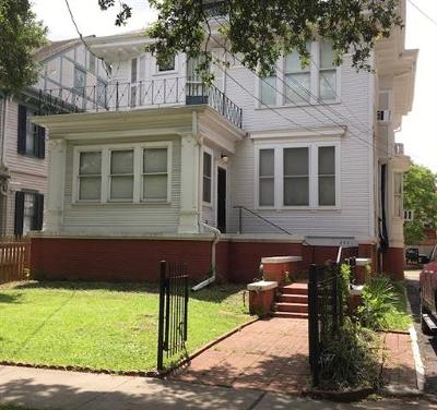 New Orleans Single Family Home For Sale: 2021 S Carrollton Avenue