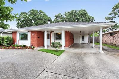 Metairie Single Family Home For Sale: 1113 Cleary Avenue