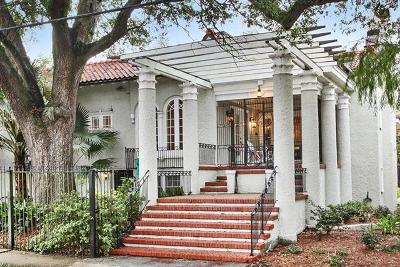 New Orleans Single Family Home For Sale: 1701 Broadway Street