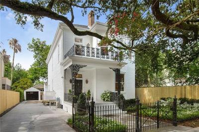 New Orleans Single Family Home For Sale: 5224 Coliseum Street