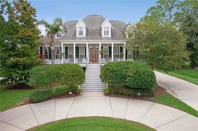 Destrehan Single Family Home For Sale: 2003 Ormond Boulevard