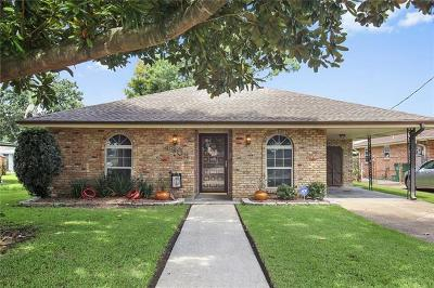 Metairie Single Family Home For Sale: 4908 Wilson Drive