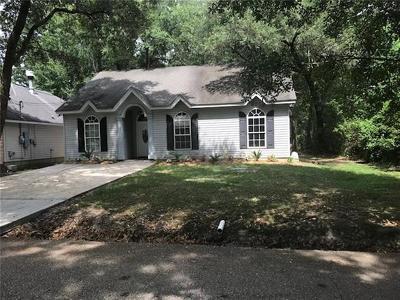 Slidell Single Family Home For Sale: 3370 Blanco Street