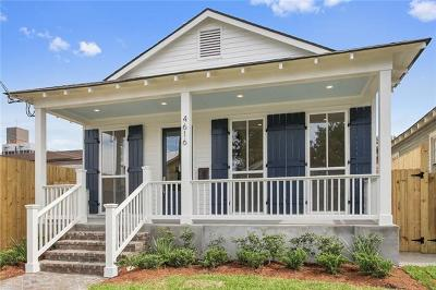 New Orleans Single Family Home For Sale: 4616 Willow Street