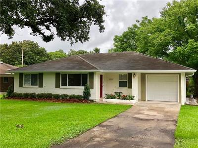 New Orleans Single Family Home For Sale: 5101 General Meyer Avenue