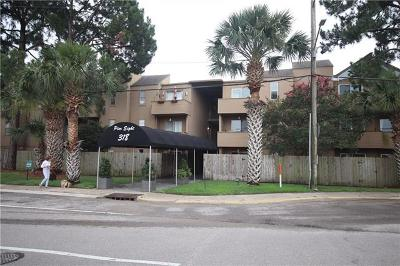 Jefferson Parish, Orleans Parish Condo For Sale: 318 Lake Marina Drive #106