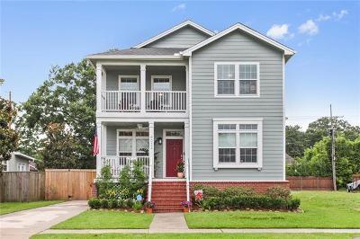 New Orleans Single Family Home For Sale: 6024 Vicksburg Street