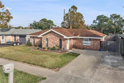 Kenner Single Family Home For Sale: 3308 E Catahoula Court
