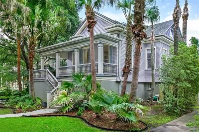 New Orleans Single Family Home For Sale: 1239 S Carrollton Avenue