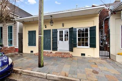 New Orleans Single Family Home For Sale: 1608 Pauger Street