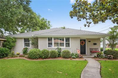 Metairie Single Family Home For Sale: 3401 44th Street