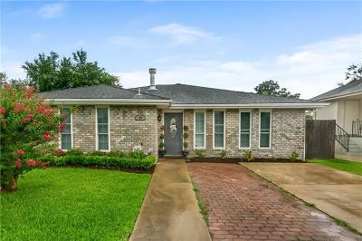 Kenner Single Family Home For Sale: 908 Ronson Drive