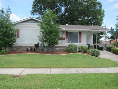 Metairie Single Family Home For Sale: 3401 Haring Road