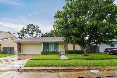 Gretna Single Family Home For Sale: 816 Lawrence Drive
