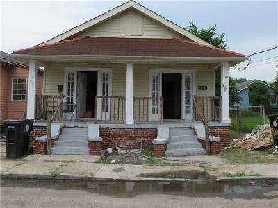 New Orleans Multi Family Home For Sale: 1218 S Telemachus Street