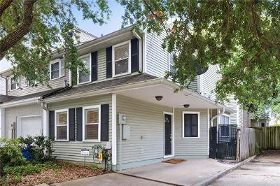 Metairie Townhouse For Sale: 1724 Old Metairie Street