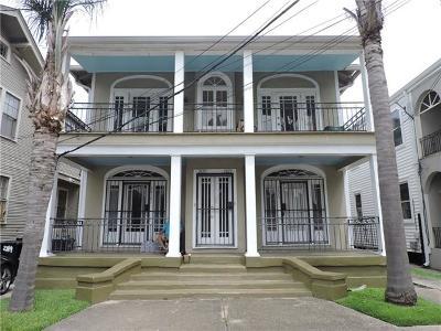 New Orleans Multi Family Home For Sale: 2818 Audubon Street