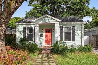 Metairie Single Family Home For Sale: 648 Metairie Lawn Drive
