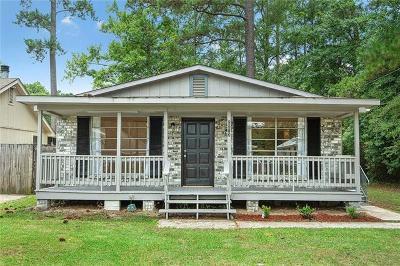 Slidell Single Family Home For Sale: 2513 Pelican Street
