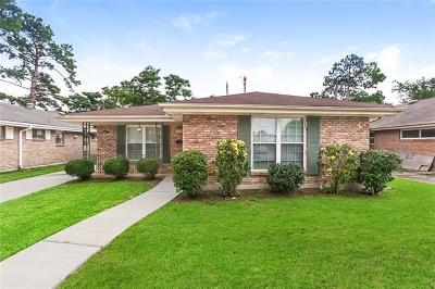 Metairie Single Family Home For Sale: 1349 Wisteria Drive