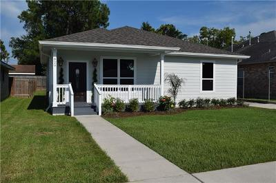 Metairie Single Family Home For Sale: 829 Grove Street