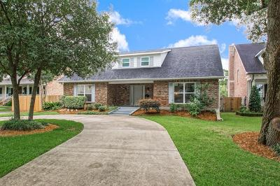 River Ridge, Harahan Single Family Home For Sale: 319 Walter Road