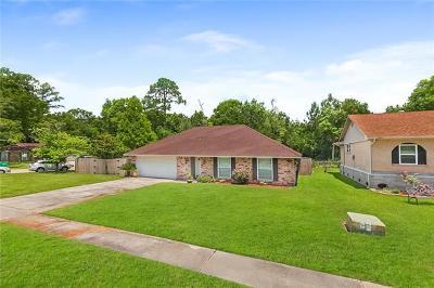 Slidell Single Family Home For Sale: 218 Darwin Court