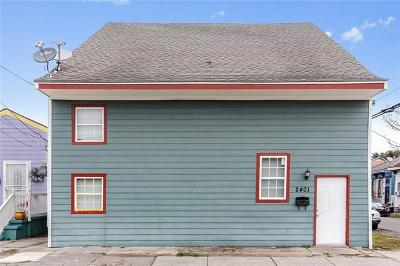 New Orleans Multi Family Home For Sale: 2401 Iberville Street