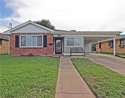Metairie Single Family Home For Sale: 1120 Frankel Avenue