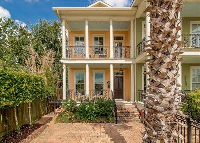 New Orleans Townhouse For Sale: 1420 Arabella Street