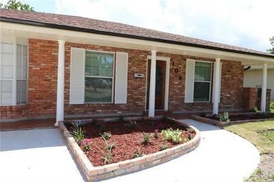 Gretna Single Family Home For Sale: 109 Willow Drive