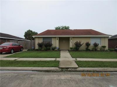 New Orleans Single Family Home For Sale: 7730 Masefield Street