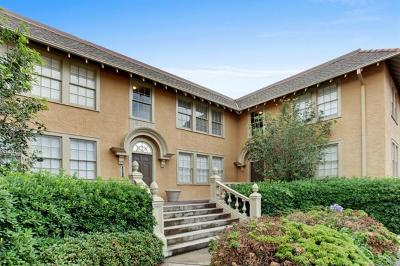 New Orleans Condo For Sale: 5607 Prytania Street #H