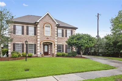 Marrero Single Family Home For Sale: 2500 Crestridge Circle