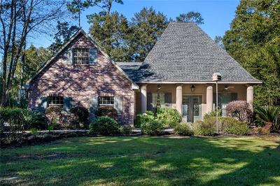 Madisonville LA Single Family Home For Sale: $449,000