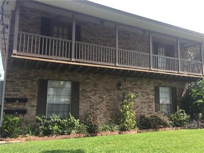 Jefferson Parish, Orleans Parish Condo For Sale: 4401 Yale Street #C