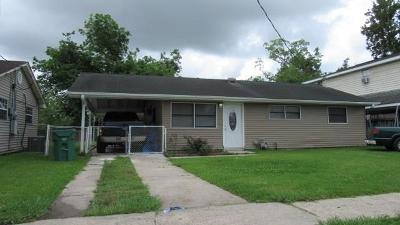 Waggaman LA Single Family Home For Sale: $69,900